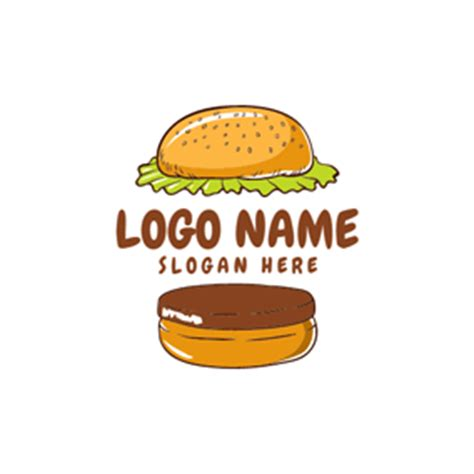 how to create an elegant red burger logo with aaa logo free burger logo designs designevo logo maker
