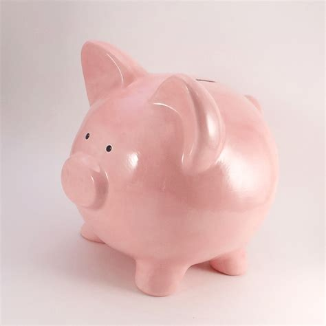 piggy bank pink piggy bank personalized piggy bank fashioned