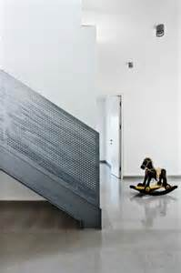 Stair Rail Guard by Perforated Metal Stair Rail Guard This Could Be Fabulous