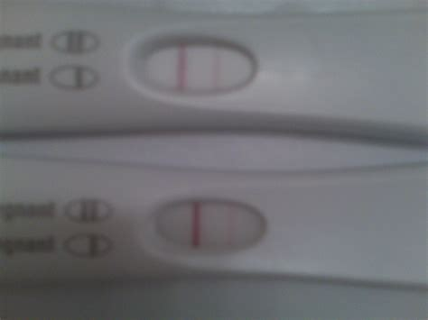 pregnancy test 2 lines but one very light very very faint line on pregnancy test pictures to pin on