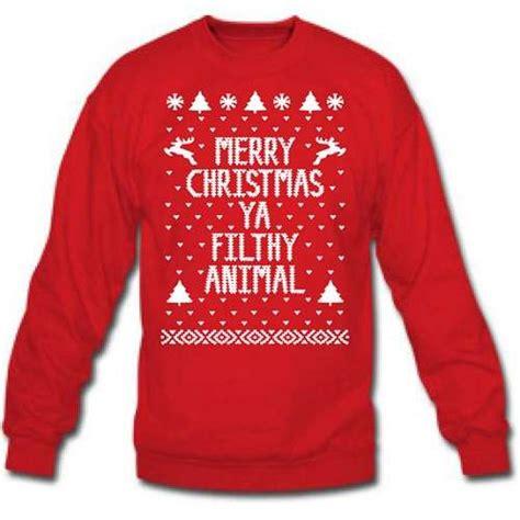 rude christmas greeting shirts home  holiday sweater