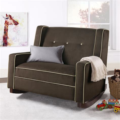 modern family chair living room half rocker recliner chair with rocker