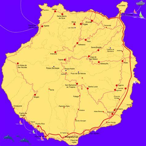 printable map gran canaria karte gran canaria my blog
