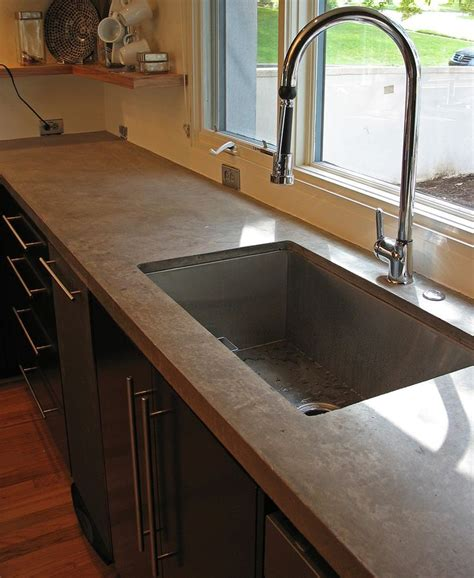 Concrete Countertops Prices Vs Granite by 25 Best Ideas About Concrete Countertops Cost On