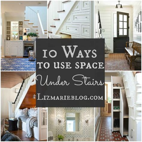 how to use spaces 10 ways to decorate stairs liz