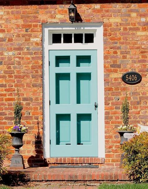 front door colors with red brick front door color for orange brick house google search