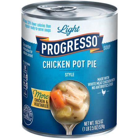 Light Chicken Pot Pie by Progresso Light Chicken Pot Pie Style Soup 18 5 Oz Walmart