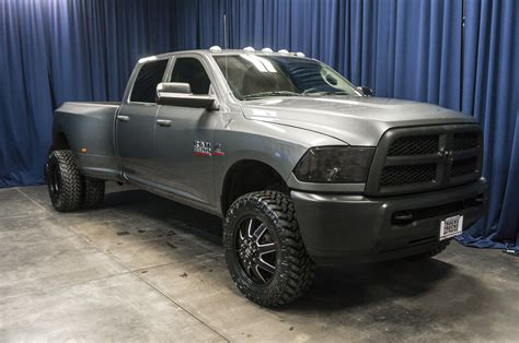 lifted 2013 dodge ram used lifted 2013 dodge ram 3500 dually rwd diesel truck