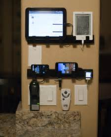 Wall Mounted Charging Station Organizer by I Made A Wall Mounted Device Charging Station Out Of Some