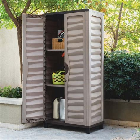 small outdoor storage closet astonishing weatherproof storage cabinets plastic with