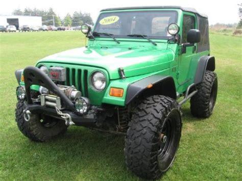 2004 Jeep Wrangler X Specs 2004 Jeep Wrangler X 4x4 Data Info And Specs Gtcarlot
