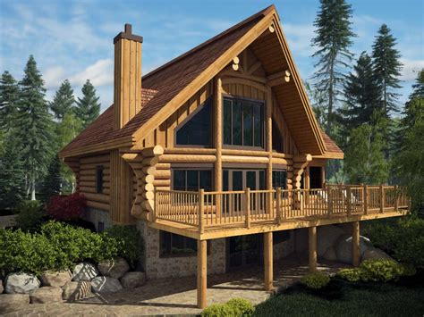 log house harkins log house model quot du lac quot in 3d harkins