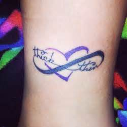 Thick And Thin Infinity 46 Infinity Symbol Tattoos