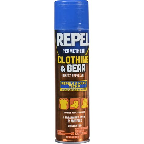 repel clothing and gear permethrin insect repellent hg