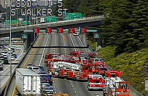 Haz Mat Response by Northbound Interstate 5 Reopened After Closure