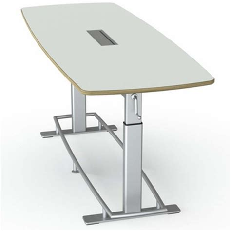Standing Height Conference Table Focal Confluence Standing Height Table The Human Solution