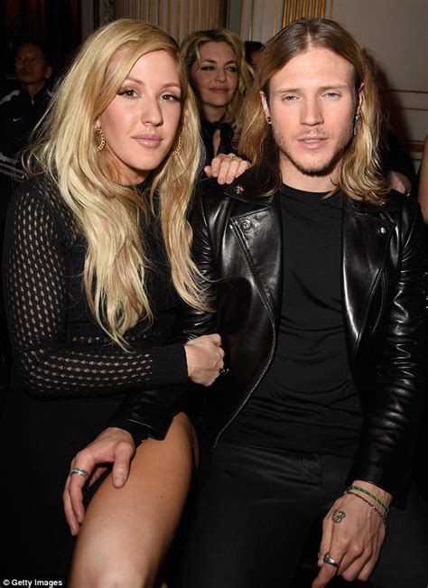 ellie goulding engaged mcbusteds dougie poynter says he doesn t mind supporting