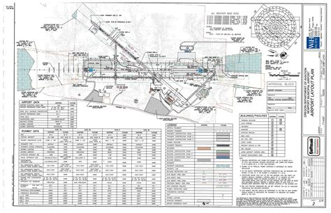 airport layout plan exle city of newport or airport