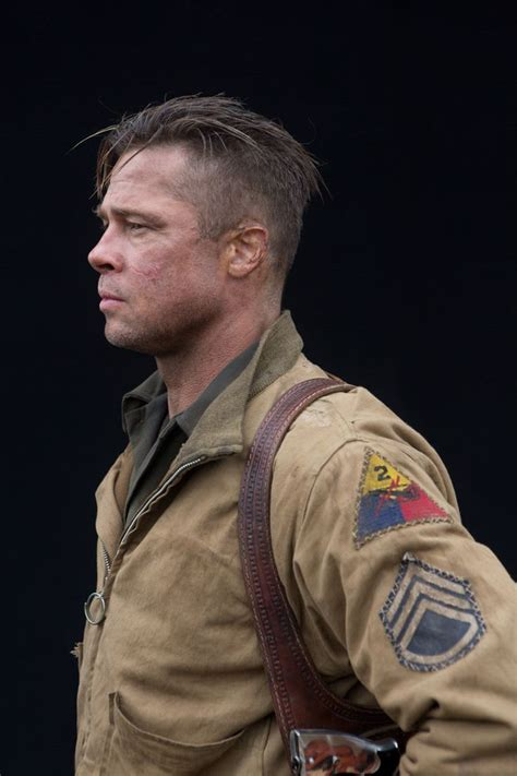 wardaddy hairstyle 12 best fury by brad pitt images on pinterest fury
