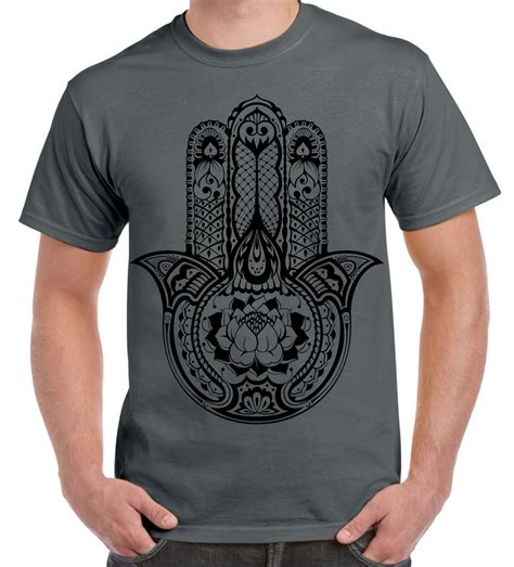 tribal tattoo t shirt tribal hamsa of fatima large print s t