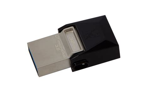 Kingston Otg Usb 3 0 32gb kingston datatraveler microduo 32gb otg usb 3 0 dtduo3
