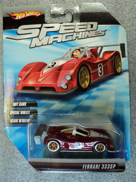 Hotwheels F50 Speed Machine wheels 2010 speed machines 333sp