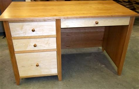 Cherrystone Furniture Custom Cherry And Maple Desk Maple Desk