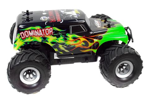 bigfoot electric monster bigfoot 1 24 electric rc monster truck 2 4ghz rtr dominator