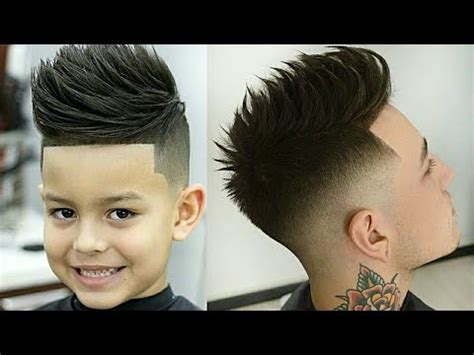 cortes para crianças jovens adultos melhores barbeiros