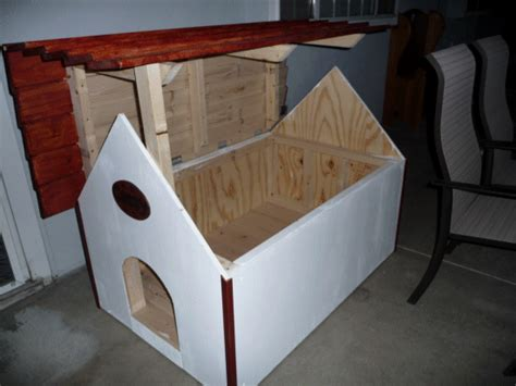 roof dog house the diyers photos doghouse project by chanpen and ryan