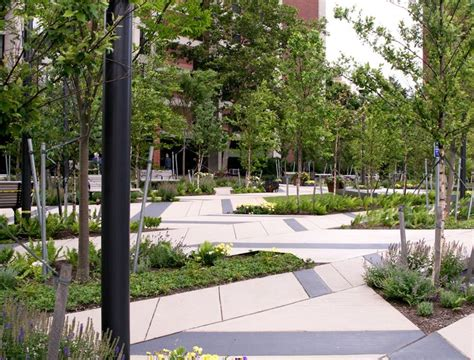Landscape Architecture Boston Mikyoung Landscape Architecture Levinson Plaza 11