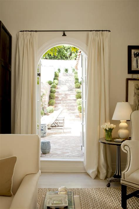 curtains on arched doorway 25 best ideas about hollywood hills homes on pinterest