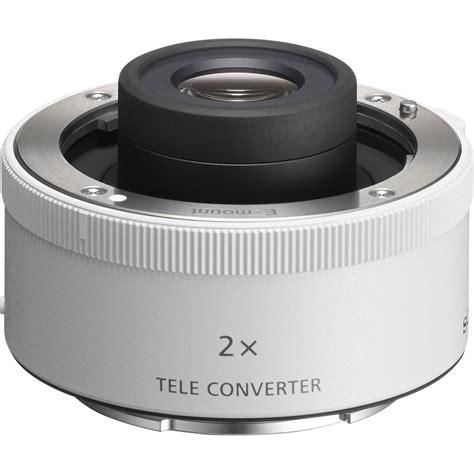 Teleconverter Lens 2 0x sony fe 2 0x teleconverter sel20tc b h photo