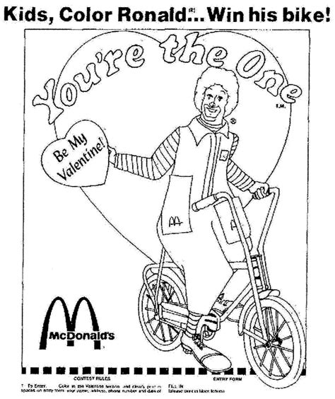 ronald mcdonald house coloring pages coloring pages
