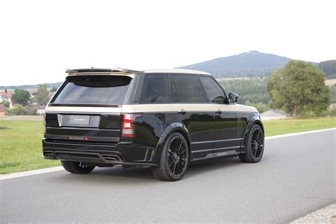 mansory range rover mansory put its signature all over this range rover