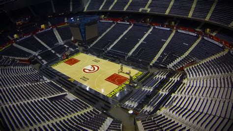 philips arena floor stunning time lapse shows philips arena floor conversion