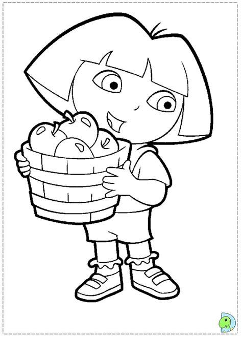 printable dora activity sheets dora the explorer coloring page dinokids org