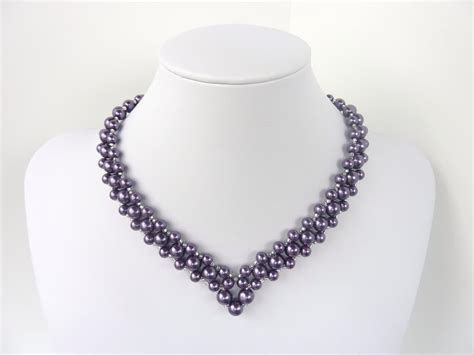 free beading pattern for and classic v shaped