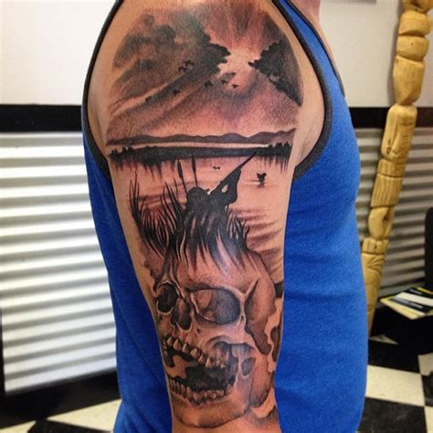 duck hunting tattoos designs 89 best tattoos of all time