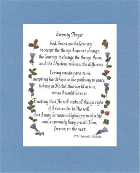 printable version serenity prayer 9 best images of the serenity prayer printable version