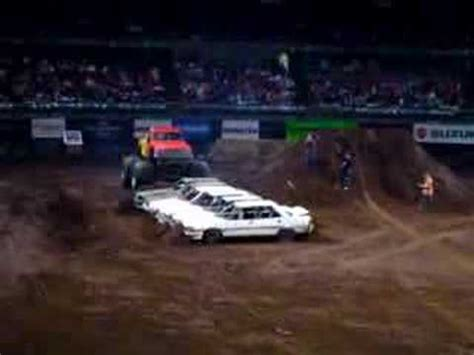 monster truck show sydney monster truck show sydney australia cars getting crushed