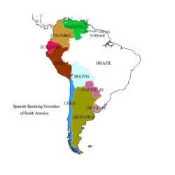 map of central and south america with capitals in