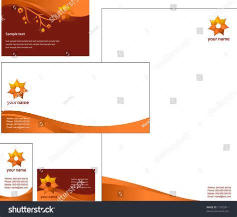 eps format letterhead designs letterhead template design vector stock vector 11922811
