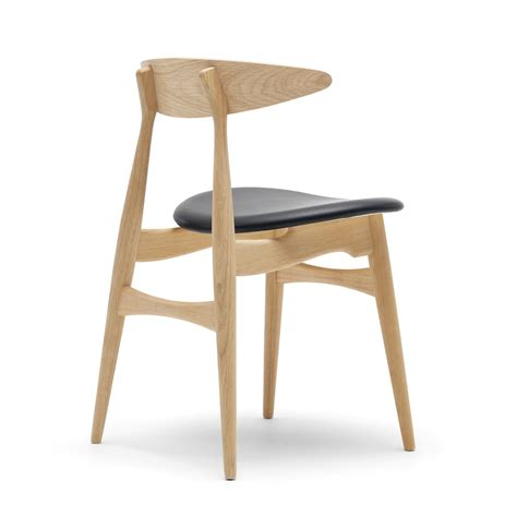hans wegner stuhl ch33 chair by carl hansen in the home design shop