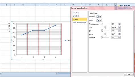 format gridlines excel 2013 excel 2013 chart show minor gridlines microsoft excel