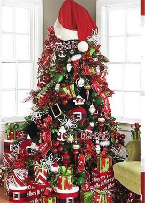 christmas tree santa theme jpg christmas pinterest