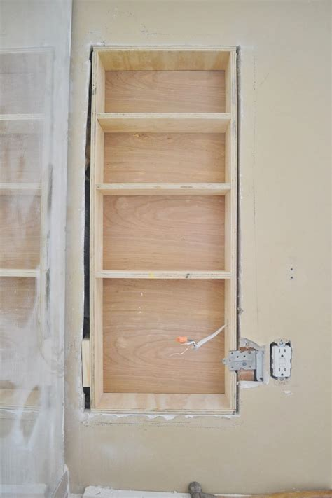 between stud storage cabinets between the studs storage adding more storage to the
