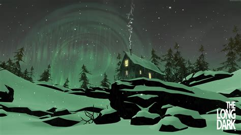 wallpaper the long dark wallpaper the long dark game open world night green