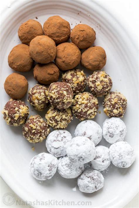 6 Ingredients And Directions Of Chocolate Truffles Receipt by Cheese Chocolate Truffles Recipe Natashaskitchen