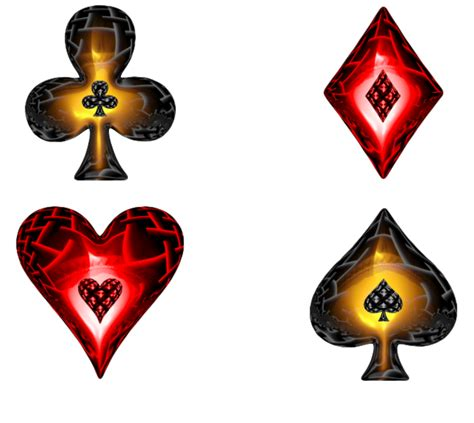 four custom playing card suit icons rocketdock com